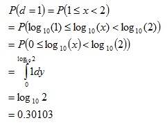 probability of d=11