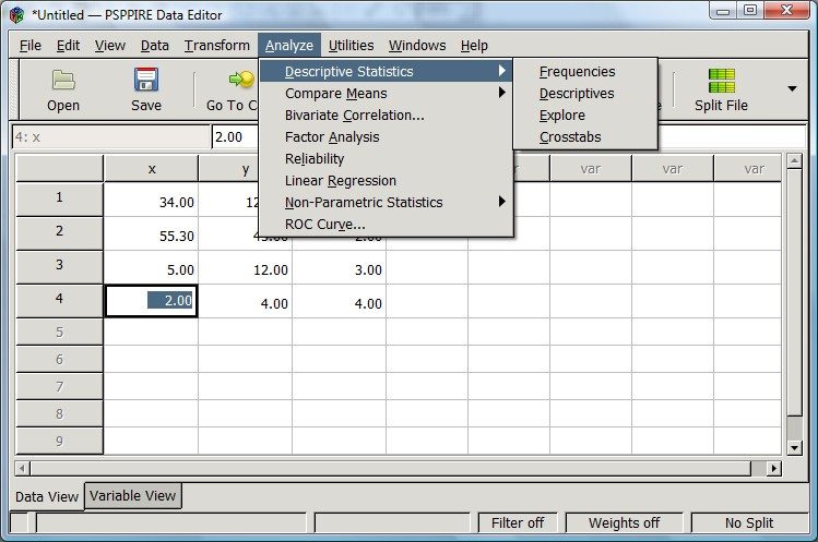 PSPP: A free alternative to SPSS