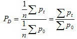 Dutot index formula