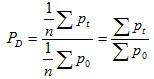 Dutot index formula