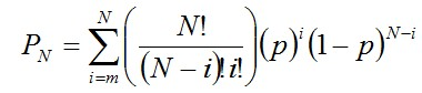 Condorcet's jury theorem formula